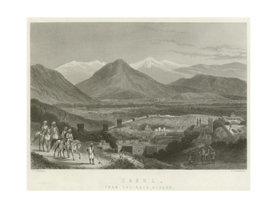 Cabul, from the Bala Hissar Giclee Print by J Ramage