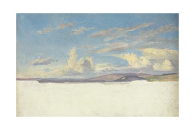 Cloud Study, C.1830 Giclee Print by Jacob Gensler