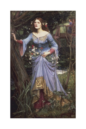 Ophelia, 1910 Giclee Print by John William Waterhouse