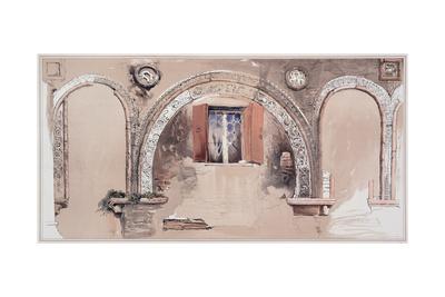 Stilted Archivolts Giclee Print by John Ruskin