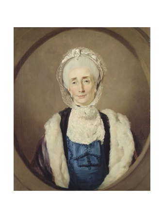 Mrs Lushington, 1774 Giclee Print by John Hamilton Mortimer