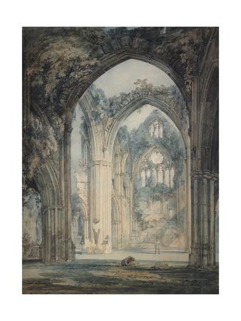 Transept of Tintern Abbey Giclee Print by Joseph Mallord William Turner