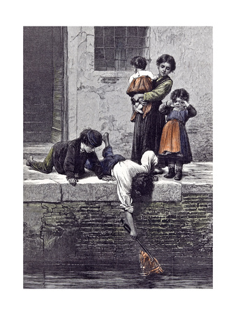 To the Rescue, 1878 Giclee Print by Ludwig Passini