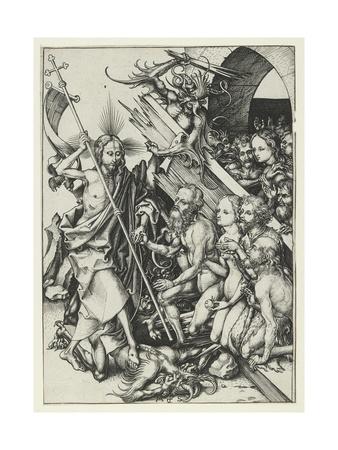 Christ in Limbo Giclee Print by Martin Schongauer