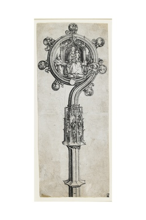 A Bishop's Crozier, C. 1475-1480 Giclee Print by Martin Schongauer