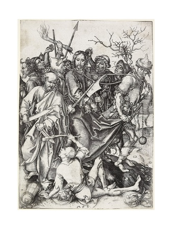 The Capture of Christ, C. 1480 Giclee Print by Martin Schongauer