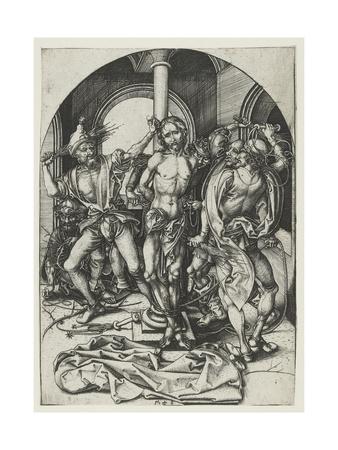 The Flagellation Giclee Print by Martin Schongauer