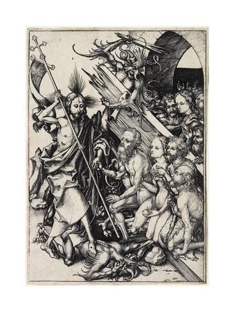 Christ in Limbo, C. 1480 Giclee Print by Martin Schongauer