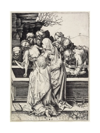 The Entombment, C. 1480 Giclee Print by Martin Schongauer