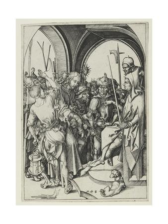 Christ before Annas Giclee Print by Martin Schongauer