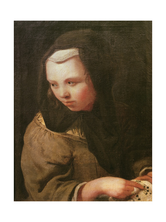 The Sense of Hearing Giclee Print by Michael Sweerts