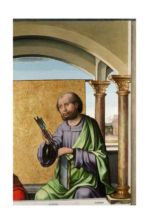 Saint Peter, C.1495 Giclée-tryk af Pedro Berruguete