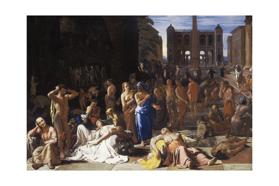 Plague in an Ancient City, C.1652-4 Giclee Print by Michael Sweerts