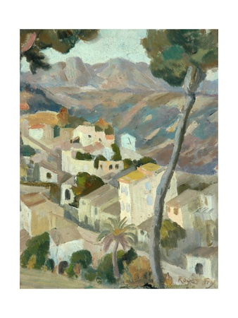 Continental Landscape, 1900s Giclee Print by Roger Eliot Fry
