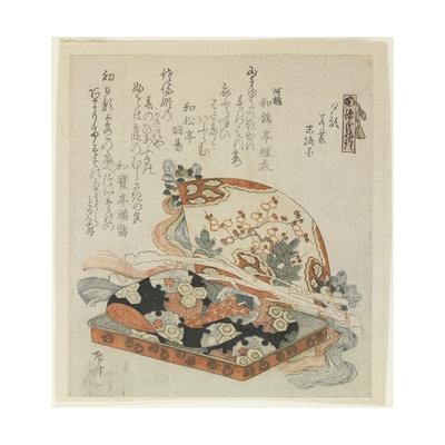 The Chapters of Yu_Gao, Wakamurasaki and Suetsumuhana Giclee Print by Ryuryukyo Shinsai