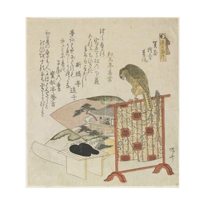 The Chapters of Sekiya, E-Awase and Matsukaze Giclee Print by Ryuryukyo Shinsai