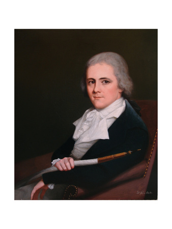 Portrait of John Buller of Trenant, Cornwall, 1790s Giclee Print by Robert Home