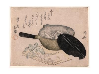 Shirauo Giclee Print by Ryuryukyo Shinsai