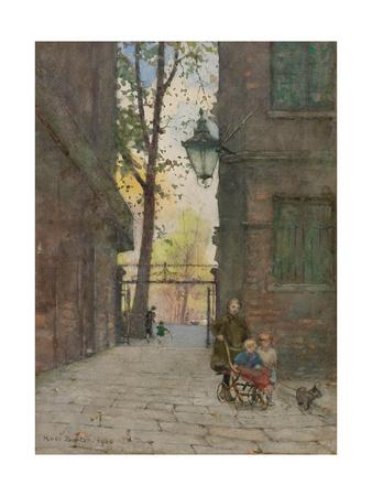 Parks Place, Knightsbridge, London, 1916 Giclee Print by Rose Maynard Barton
