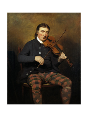 Niel Gow (1727-1807), 1787 Giclee Print by Sir Henry Raeburn