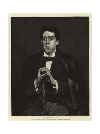I Zangwill, Esquire Giclee Print by Solomon Joseph Solomon