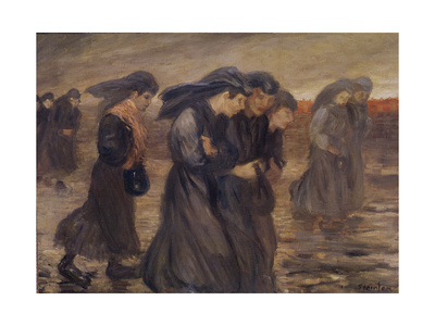 The Coal Graders, 1905 Giclee Print by Theophile Alexandre Steinlen