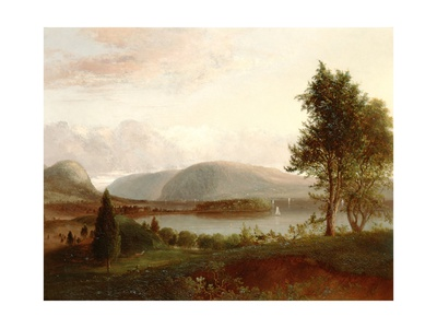 Denning's Point, Hudson River, C.1839 Giclee Print by Thomas Doughty