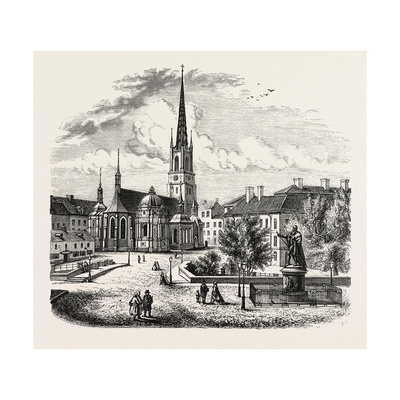Riddarholm Church. the Riddarholmen Church Giclee Print