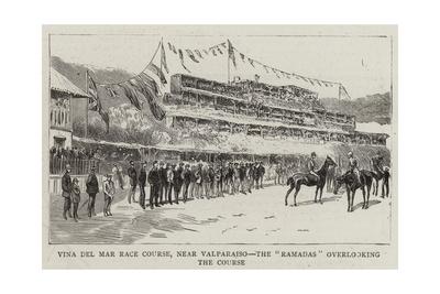 Vina Del Mar Race Course, Near Valparaiso, the Ramadas Overlooking the Course Giclee Print