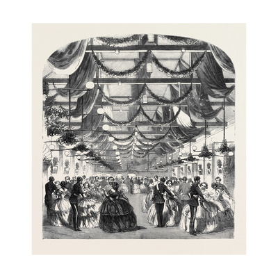 The Annual Ball of Non-Commissioned Officers at the Royal Artillery Schools Woolwich Giclee Print