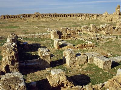 Syria. Resafa. Archaeological Site. Basilica of Saint Sergius. 5th Century. Byzantine Period Photographic Print