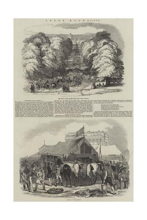 Ascot Races, 1846 Giclee Print