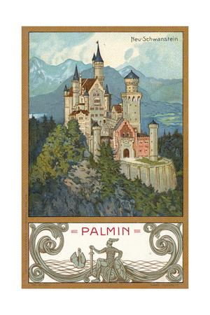 Neuschwanstein Castle, Bavaria Giclee Print