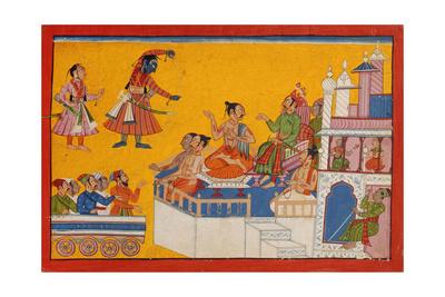 Rama Bends His Bow, C.1700 Giclee Print