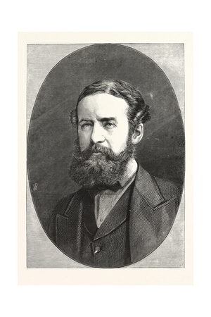 Sir John Lubbock, Bart., M.P. for Maidstone, 1876, UK Giclee Print
