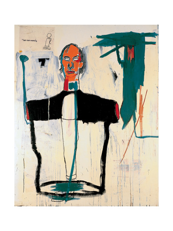 Portrait of John Giclee Print by Jean-Michel Basquiat