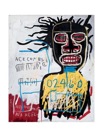 Self-Portrait as a Heel Giclee Print by Jean-Michel Basquiat