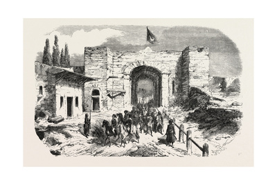 Headquarters of Omer Pasha-Soukoum Kale, 1855 Giclee Print