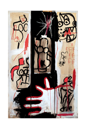 Rape of Roman Torsos Giclee Print by Jean-Michel Basquiat