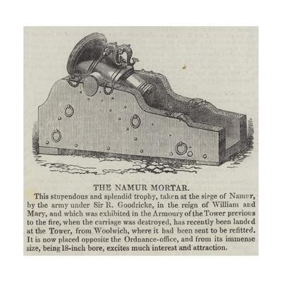 The Namur Mortar Giclee Print