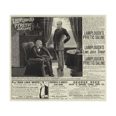 Advertisements Giclee Print