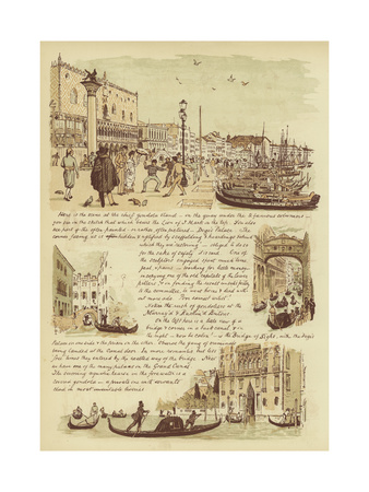 To Our Friends Who Have Never Been to Venice Giclee Print