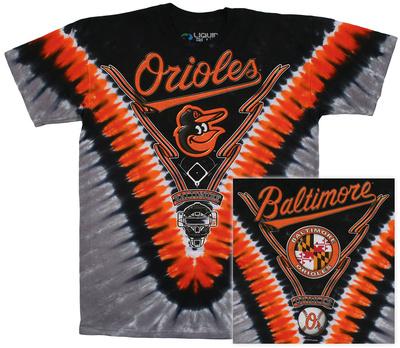 MLB - Orioles  Tie Dye Logo T-Shirt