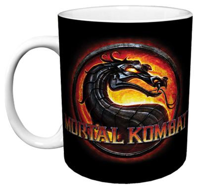 Mortal Kombat - Logo Mug Mug