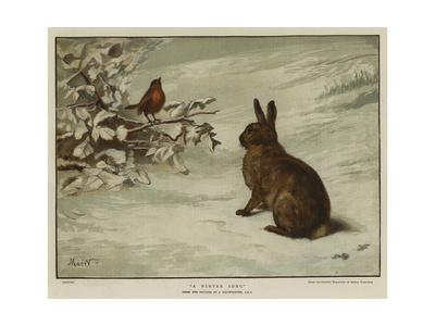 A Winter Song Stampa giclée