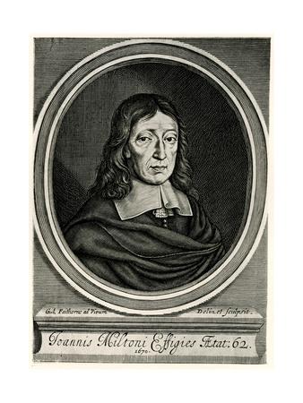 John Milton, 1884-90 Giclee Print
