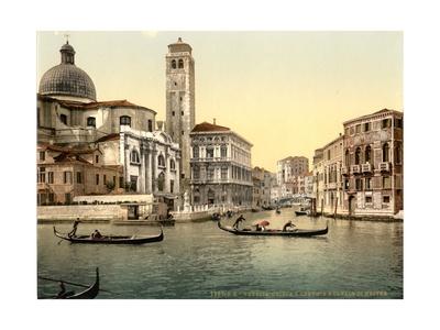 San Geremia Church, Venice, Italy, C.1890-C.1900 Giclee Print