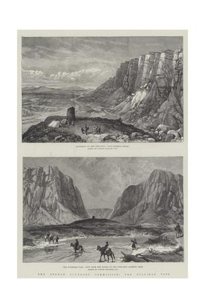 The Afghan Boundary Commission, the Zulfikar Pass Giclee Print