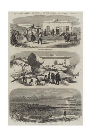 Scenes and Sketches in Caprera Giclee Print