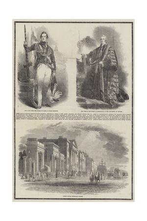 Death of the Duke of Wellington Giclee Print